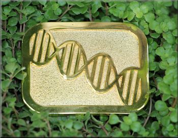 DNA Belt Buckle