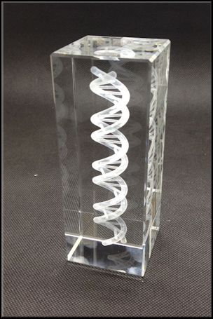 Dna Crystal Cubes