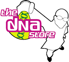 The DNA Store logo