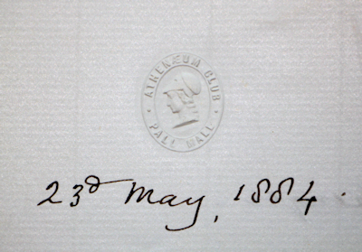 Richard Owen Signed Letter
